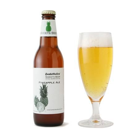 ビールラインナップ-パイナップルエール | 元祖地ビール屋【サンクトガーレン】