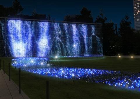 東京ミッドタウン「サマー・ライト・ガーデン」