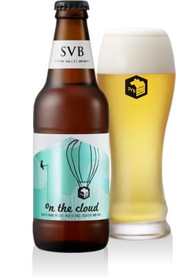 キリンのクラフトビール「on the cloud」