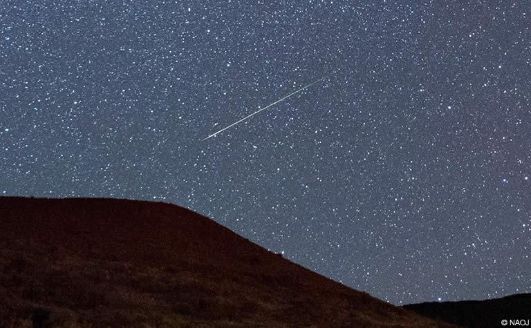 ペルセウス座流星群 2015年 | 国立天文台(NAOJ)