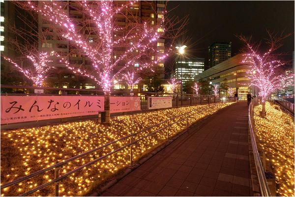 五反田ふれあい水辺広場「目黒川みんなのイルミネーション2015」2015/11/20~12/25