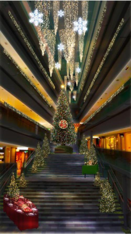 表参道ヒルズ「OMOTESANDO HILLS CHRISTMAS 2015」2015/11/5~12/25