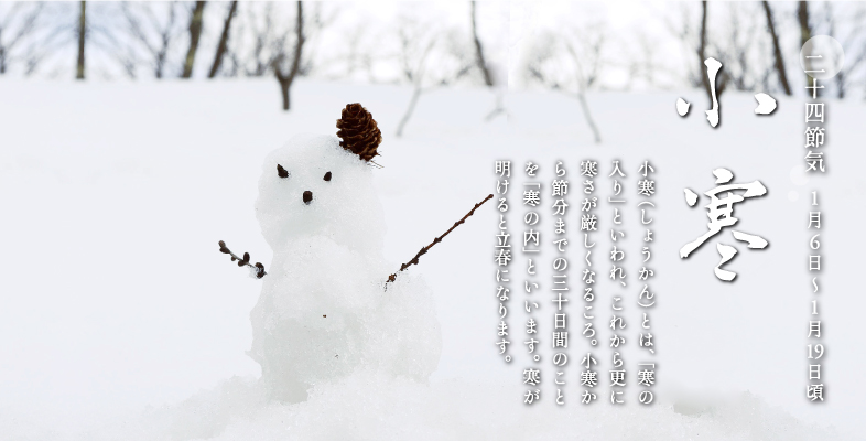 「小寒」寒の入り 2016/1/6