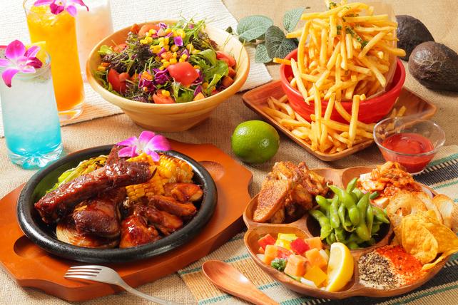 Lanai Hawaiian Natural Dishes - 大宮駅直結の開放的な空間が自慢のハワイアン・ダイニング
