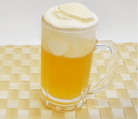 爽バニラ×ビール