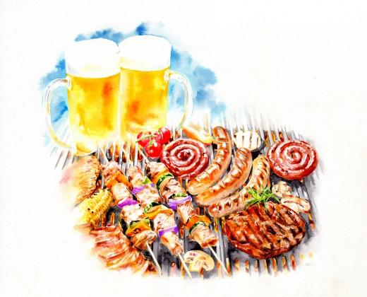 屋上ビアガーデンが今年もオープン! BBQ SunSet