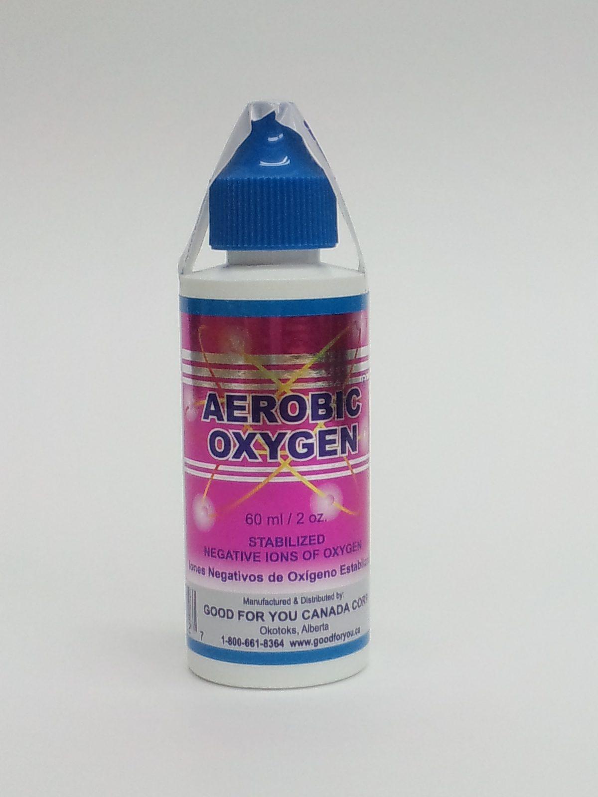高濃度酸素リキッド「エアロビクス・オキシジェン」Aerobic Oxygen, 60mL