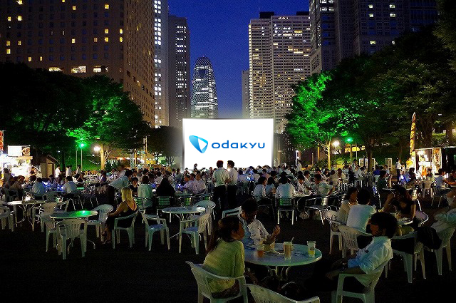 2016 Screen@Shinjuku Central Park | 新宿中央公園