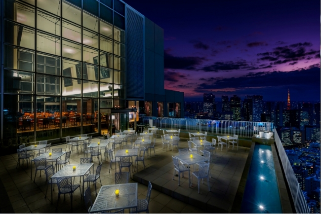 【ビアテラス】早割プランは更にお得!地上47階夜景確約 ブランド牛豚などのお料理&フリードリンクプラン | 期間限定プラン | 東京 銀座 レストラン ルーク ウィズ スカイラウンジ