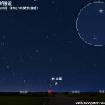 2017年5月23日 細い月と金星が接近 - AstroArts