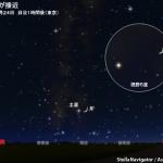 2017年10月24日 月と土星が接近 - アストロアーツ