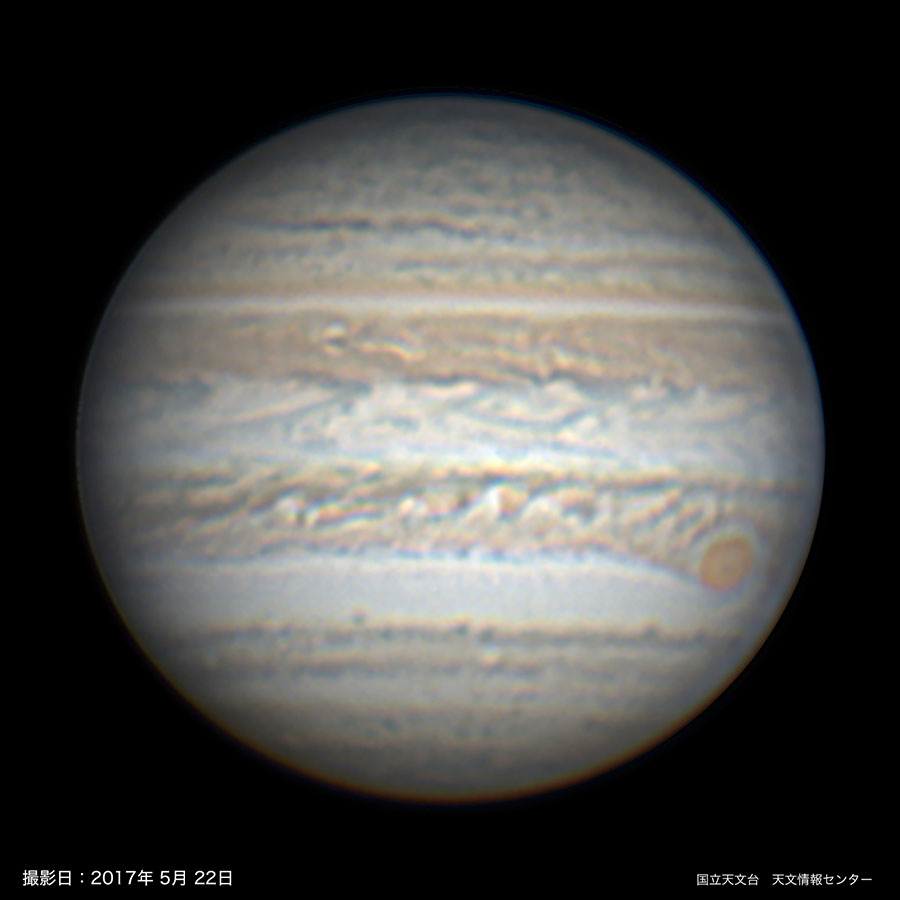 木星が見ごろ(2018年5月) | 国立天文台(NAOJ)