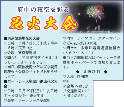 広報ふちゅう令和元年7月1日号