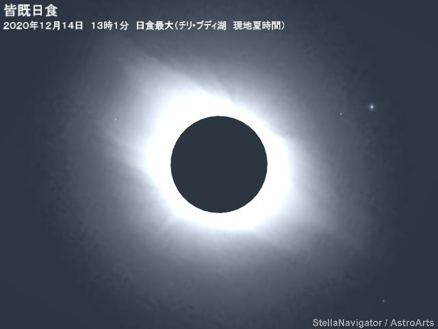 2020年12月15日 皆既日食(チリ、アルゼンチン) - アストロアーツ