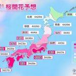 2021年桜開花予想 トップは福岡など3月16日 東京3月17日(日直予報士 2021年02月25日) - 日本気象協会 tenki.jp