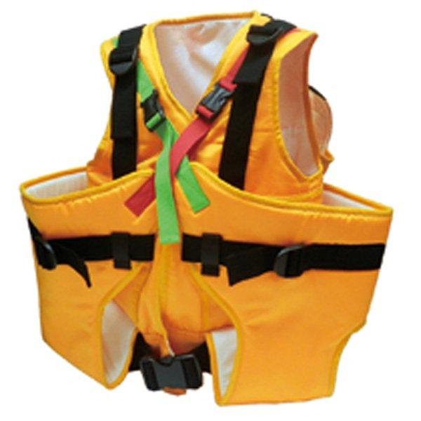 【防災グッズ】エバキッズ「避難用3人抱きキャリー」保育士1人で3人の子供を保持できる