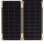 【防災グッズ】ヨーク「ソーラーペーパー」世界最小のソーラー充電器