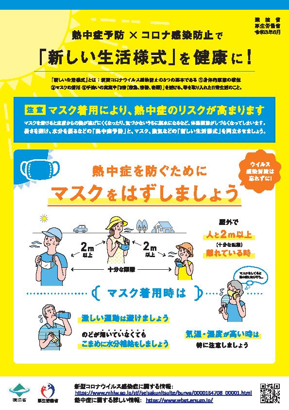 熱中症予防2021
